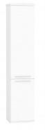 Vysoká koupelnová skříňka REA REST 5 - bílá
