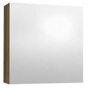 Závěsná skříňka se zrcadlem REA REST 6 - ořech rockpile