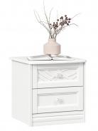 Noční stolek Ofélie - bílá