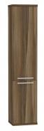 Vysoká koupelnová skříňka REA REST 5 - ořech rockpile