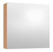 Závěsná skříňka se zrcadlem REA REST 6 - buk