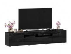 TV stolek 180cm Drax - černý lesk