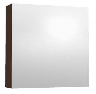Závěsná skříňka se zrcadlem REA REST 6 - wenge
