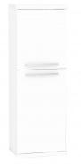 Koupelnová skříňka s košem na prádlo REA REST 4 - bílá