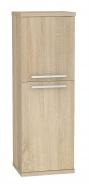 Koupelnová skříňka s košem na prádlo REA REST 4 - dub bardolino