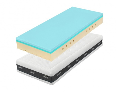 Partnerská matrace 1+1 Zdarma Super Fox blue 20 Classic - 90x200cm