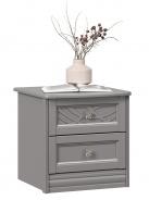Noční stolek Ofélie - šedá
