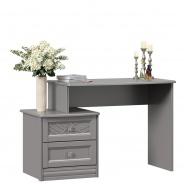 Toaletní stolek Ofélie - šedá