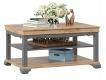 Konferenční stolek Annie - šedá/dub tortuga