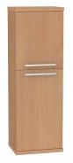 Koupelnová skříňka s košem na prádlo REA REST 4 - buk