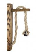 Lanová lampa Kinkiet - K02 - tmavý vosk