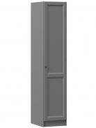 Jednodveřová skříň pravá Annie - šedá