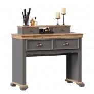 Toaletní stolek Annie - šedá/dub tortuga