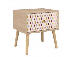 Dětský noční stolek Alenka - dub