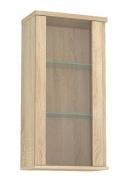 Prosklená závěsná skříňka REA Amy 24 - dub bardolino