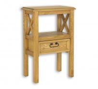Masivní stolek se šuplíkem MES 15 - výběr moření