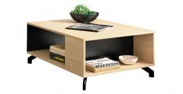 Konferenční stolek Otis - dub/černá