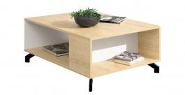 Konferenční stolek Otis - dub/bílá