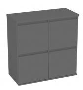 Komoda s 4 kontejnerovými zásuvkami REA Amy 17 - graphite