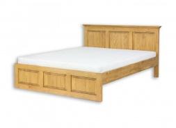 Masivní postel 160x200 ACC 03 - výběr moření