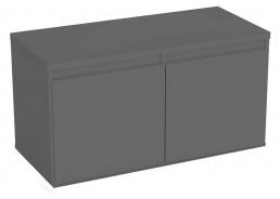 Komoda s 2 kontejnerovými zásuvkami REA Amy 11 - graphite