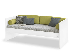 Jednoduchá postel Pure 90x200cm - bílá