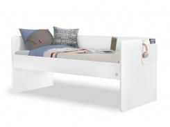 Jednolůžková postel 90x200cm Pure - bílá