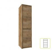 Skříň s předělenými dveřmi, dub lefkas, MONTANA S1D