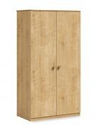 Šatní skříň Cody - dub světlý