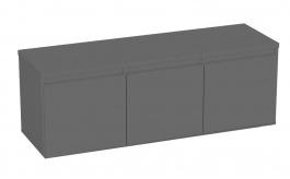 Komoda s 3 kontejnerovými zásuvkami REA Amy 12 - graphite