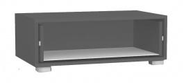 TV skříňka se zásuvkou REA Rebecca 1 - graphite