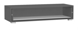TV skříňka se zásuvkou REA Rebecca 2 - graphite