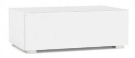 TV skříňka se zásuvkou REA Rebecca 1 - bílá