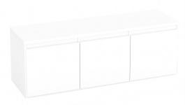Komoda s 3 kontejnerovými zásuvkami REA Amy 12 - bílá