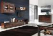 Televizní stolek Forrest 2 - ořech tmavý/dub milano