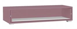 TV skříňka se zásuvkou REA Rebecca 2 - plum