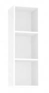Závěsná skříňka REA Rebecca 10 - bílá - s dvířky/bez dvířek