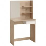Toaletní stolek Kana - dub jackson/bílá