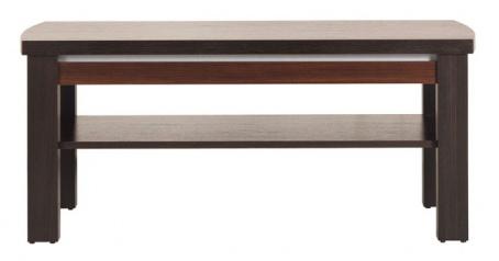 Konferenční stolek Forrest - ořech tmavý/dub milano