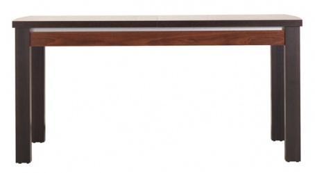 Jídelní stůl s rozkládáním Forrest - ořech tmavý/dub milano