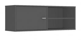 Horní skříňka s dvířky REA Denisa Up 001 - graphite