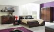 Manželská postel Forrest 160x200cm - ořech tmavý/dub milano