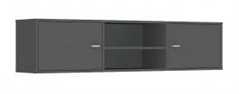 Horní skříňka s 2 dvířky REA Denisa Up 002 - graphite