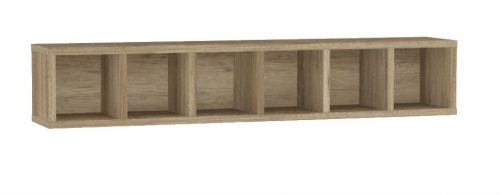 6dílná police REA Denisa Up 005 - dub canyon