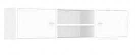 Horní skříňka s 2 dvířky REA Denisa Up 002 - biela