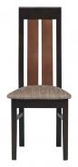 Jídelní židle Naomi - ořech/hnědá