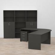Kancelářská sestava REA Office Expres 1 - graphite