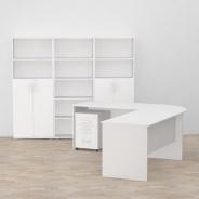 Kancelářská sestava REA Office Expres 1 - bílá