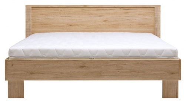 Manželská postel Nicol 160x200cm - dub sanremo
