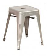 Kovový taburet - stolek SPOT aluminium